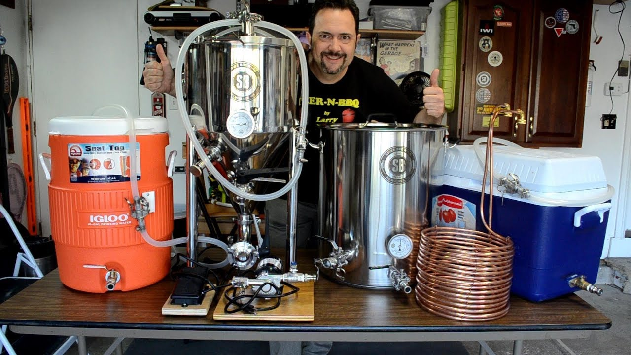 My 10 Gallon Brewery Overview Amp First Brew Day Beer N