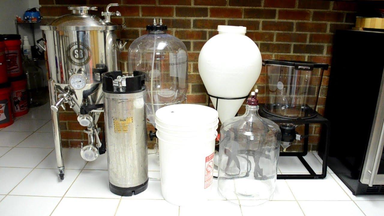 Choosing A Fermenter Bucket Carboy Keg Or Conical