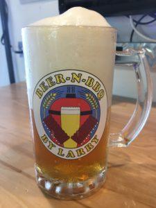 BNB Logo Beer Mug